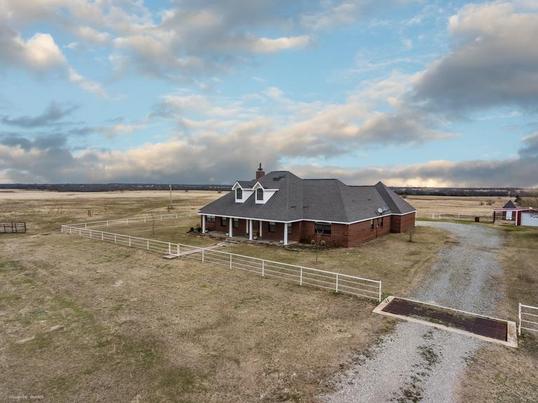 Tract 1 - Home on 12.4 Acres