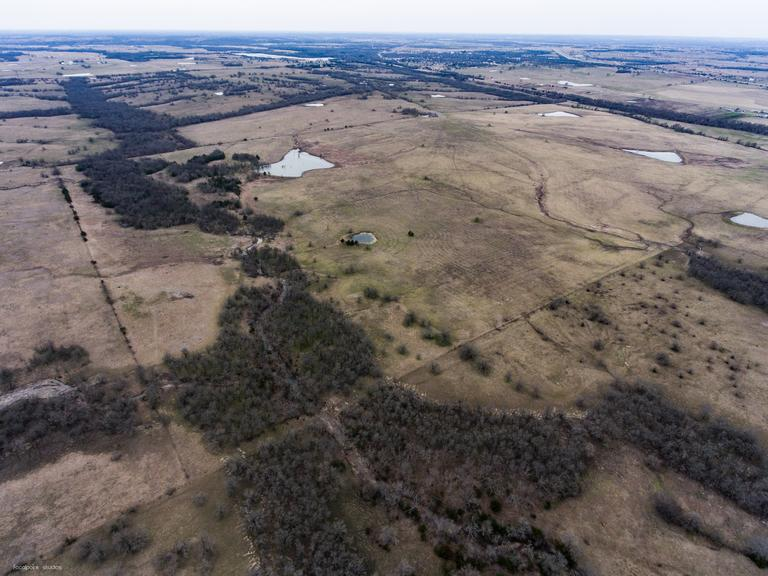 Tract 3 - 140.5 Acres with Cattle Facilities
