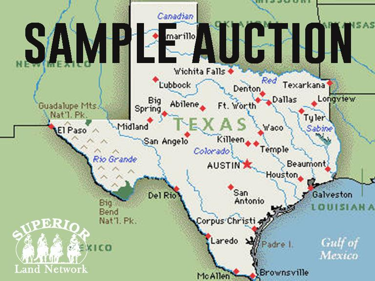Superior Land Network Demo Auction